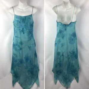 Dresses - La Belle Lined Asymmetrical Maxi Fresh Fashion